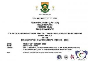 2013 EFSA Ganmefish Sendoff